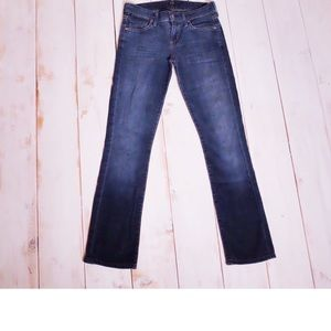 Citizens Of Humanity Low Rise Blue Jeans